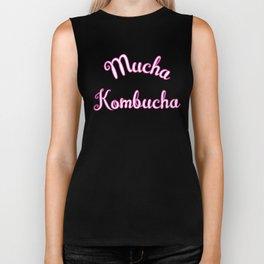 Mucha Kombucha, Scoby, Kombucha Gift Biker Tank