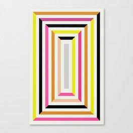 Color succession Canvas Print
