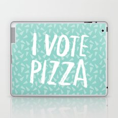 I Vote Pizza  Laptop & iPad Skin