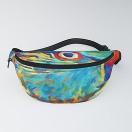 Ring-Necked Parakeet Fanny Pack