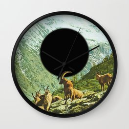 Lapse of Nature Wall Clock