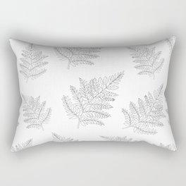 Farn Pattern Rectangular Pillow