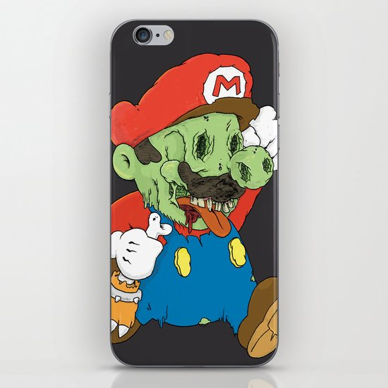 It's A Me Zombio iPhone & iPod Skin
