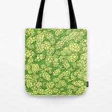 Floral Hops Tote Bag
