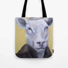 Sheep Portrait Tote Bag