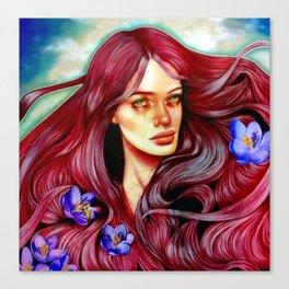 Saffron's Honey Canvas Print