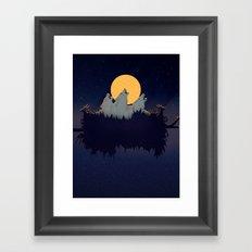 Midnight Sound Framed Art Print