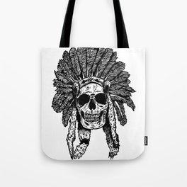 Chief Skull Tote Bag