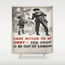 Vintage poster - Leave Him to Me Shower Curtain