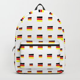 Flag of Germany 5 handmade Backpack