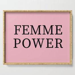 Femme Power Serving Tray