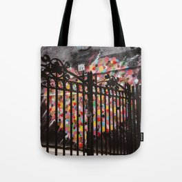 Locked Heart Tote Bag