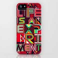 Life is an Experiment iPhone (5, 5s) Slim Case