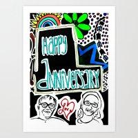 Anniversary Art Print