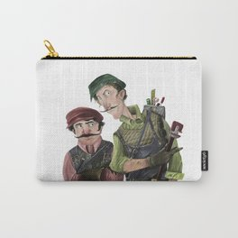 Plumbers of Green Pipes Carry-All Pouch