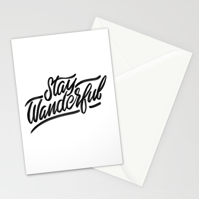 Stay Wanderful Stationery Cards