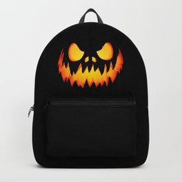 Evil Halloween pumpkin Backpack