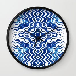 Blue Jags Wall Clock