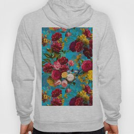 Vintage & Shabby Chic - Midnight Tropical Garden Hoody