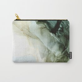 Land and Sky Abstract Landscape Painting Carry-All Pouch