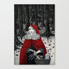 In the Company of Wolves. Canvas Print