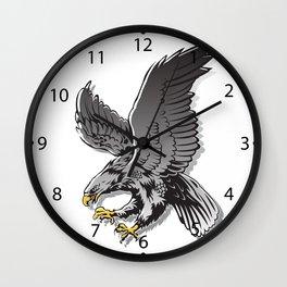 Flying Eagle  Wall Clock