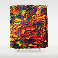 discount Shower Curtains featuring discount sand by Lea - Lu