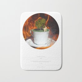 The Garden (This Burning World 3) Bath Mat