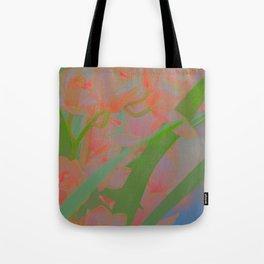 pinky flowers Tote Bag