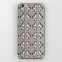 trout iPhone & iPod Skins featuring Rainbow Trout by Emi Claire Brown