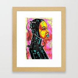 BLK SCI-FI 3 Framed Art Print
