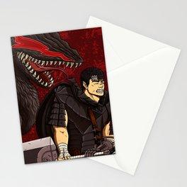 Guts Berserk Stationery Cards