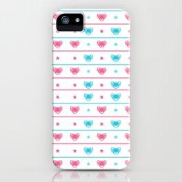 Modern Heart Design Pattern Art iPhone Case