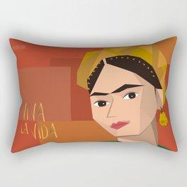 Frida Khalo Cubism Edition 2 Rectangular Pillow