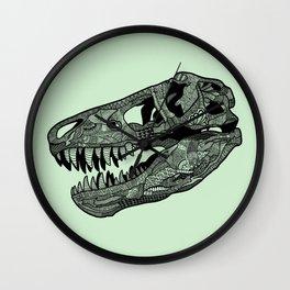 Jurassic Skull Wall Clock
