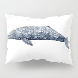 Grey whale Pillow Sham