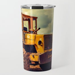 Bulldozer Travel Mug