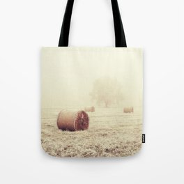 Lost In The Field Tote Bag