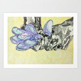A Series of Hands: 11 Art Print