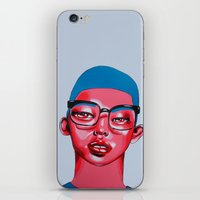 austin iPhone & iPod Skins featuring AUSTIN by Zelda Bomba
