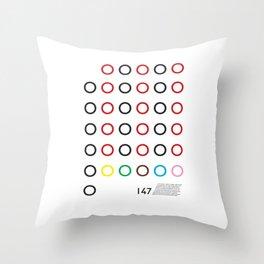 147 Throw Pillow