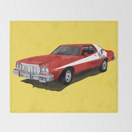 Starsky and Hutch car Throw Blanket