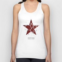 winter soldier Tank Tops featuring Codename Winter Soldier by Bonnie Detwiller