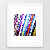 80s Framed Art Prints featuring 80s by margalit romano