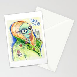 Sally's Day Off Stationery Cards