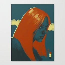 Natasha Romanov  Canvas Print