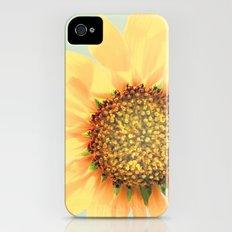 Sunflower Power Pop! Slim Case iPhone (4, 4s)