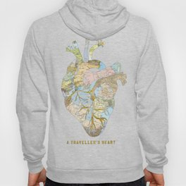A Traveller's Heart (UK) Hoody