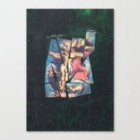 jesus Canvas Prints featuring Jesus by Ibbanez