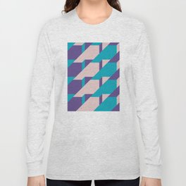 Abstract Glow #society6 #glow #pattern Long Sleeve T-shirt